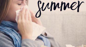 Staunton Primary Care Cincinnati-Sick woman blowing nose with influenza